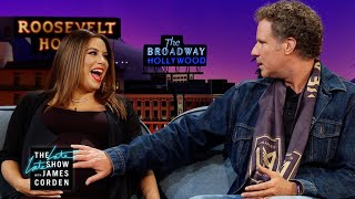 Eva Longoria Gets Parenting Tips from Will Ferrell