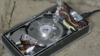 How a Hard Drive works in Slow Motion - The Slow Mo Guys