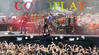 Coldplay live in Zurich 2016 - Intro & A Head Full of Dreams