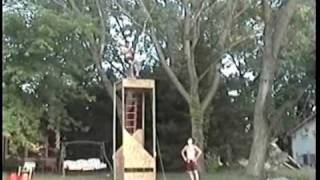 Rope Swing Break in Slow Motion