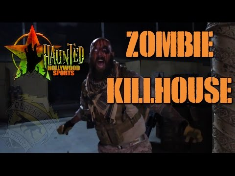 Haunted Hollywood Sports Park Zombie Killhouses (Hollywood Sports Park, Bellflower, California)