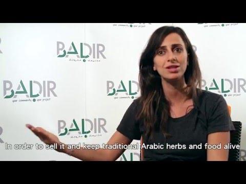 BADIR 2015 Fellow Maria Haddad