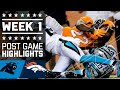 Panthers vs. Broncos Full Highlights (Week 1) | NFL