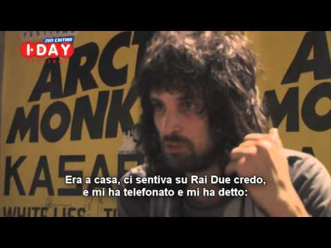 KASABIAN * I-Day 2011 * Sergio Pizzorno, intervista: