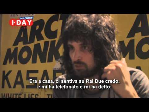 KASABIAN * I-Day 2011 * Sergio Pizzorno, intervista: