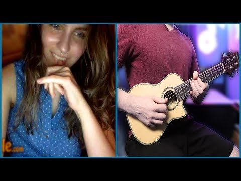 Playing Guitar on Omegle Ep. 9 - Ukulele Metal