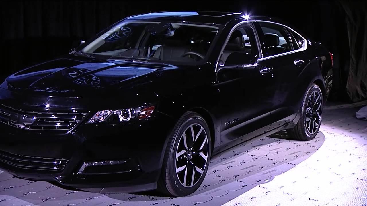 2015 Chevrolet Impala Blackout Concept Unveiled At 2014
