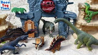 Dino Island Park Fun Dinosaur Toys For Kids - Let's Learn Dinosaur Names!