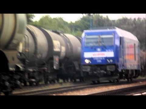 Pociągi towarowe ET22 i inne część 6 (HD)