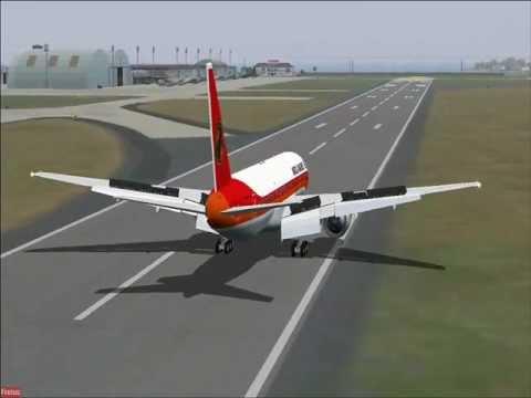FS2004 BOEING 777 200ER DA TAAG D2 TEF NUM VOO ESPECIAL DTA7741 ENTRE LUANDA RIO 21 01 2012