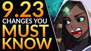 What YOU MUST KNOW in Patch 9.23: HUGE Preseason Changes - Dragons and NEW ITEMS | LoL Pro Guide
