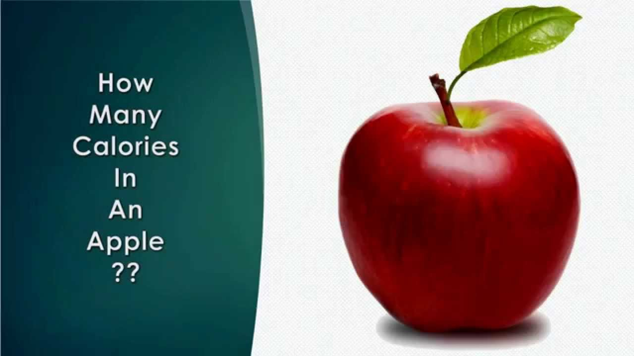 Many Calories in an Apple?