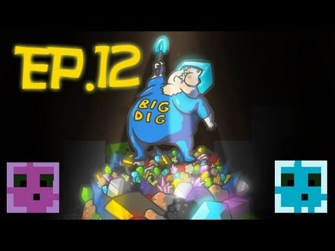 Minecraft: Big Dig Modpack Multiplayer Ep.12 - Power!