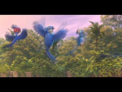 里約大冒險2 - 《Beautiful Creatures》鳥兒舞動