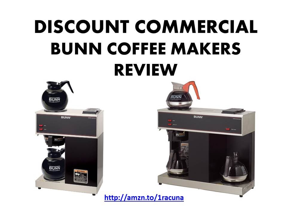 How to use BUNN VPR Commercial Coffee Brewer - YouTube