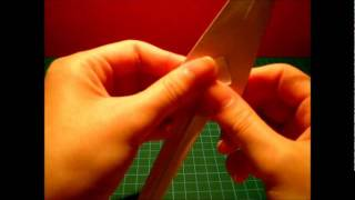 Origami Lesson: Squid Fish..!