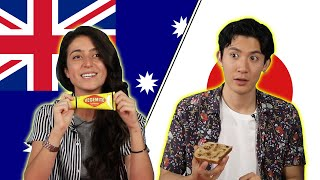 Australian & Japanese People Swap Snacks