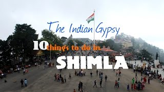 10 things to do in Shimla