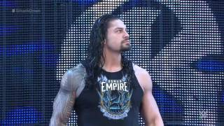 Roman Reigns NEW Entrance 2016 after injury
