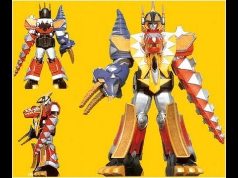 Thundersaurus Megazord - Power Ranger Dino Thunder