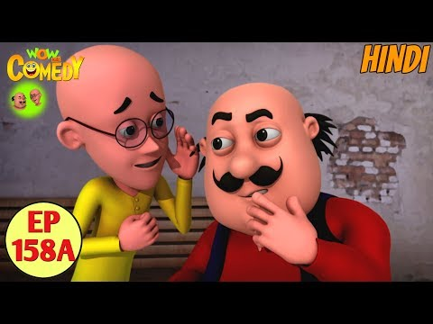 Motu Patlu | Murkh Nagari | Cartoon in Hindi for Kids | Funny Cartoon Video thumbnail