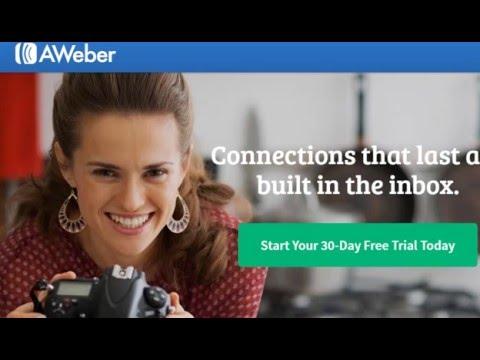 6 Бесплатная регистрация на зарубежном сервисе рассылок Aweber