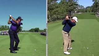 Golf Transition - Arm Shallowing Position vs Movement