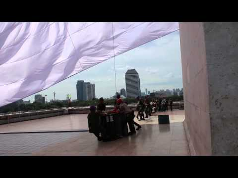 Hari Bela Negara Merah Putih Di Monas video