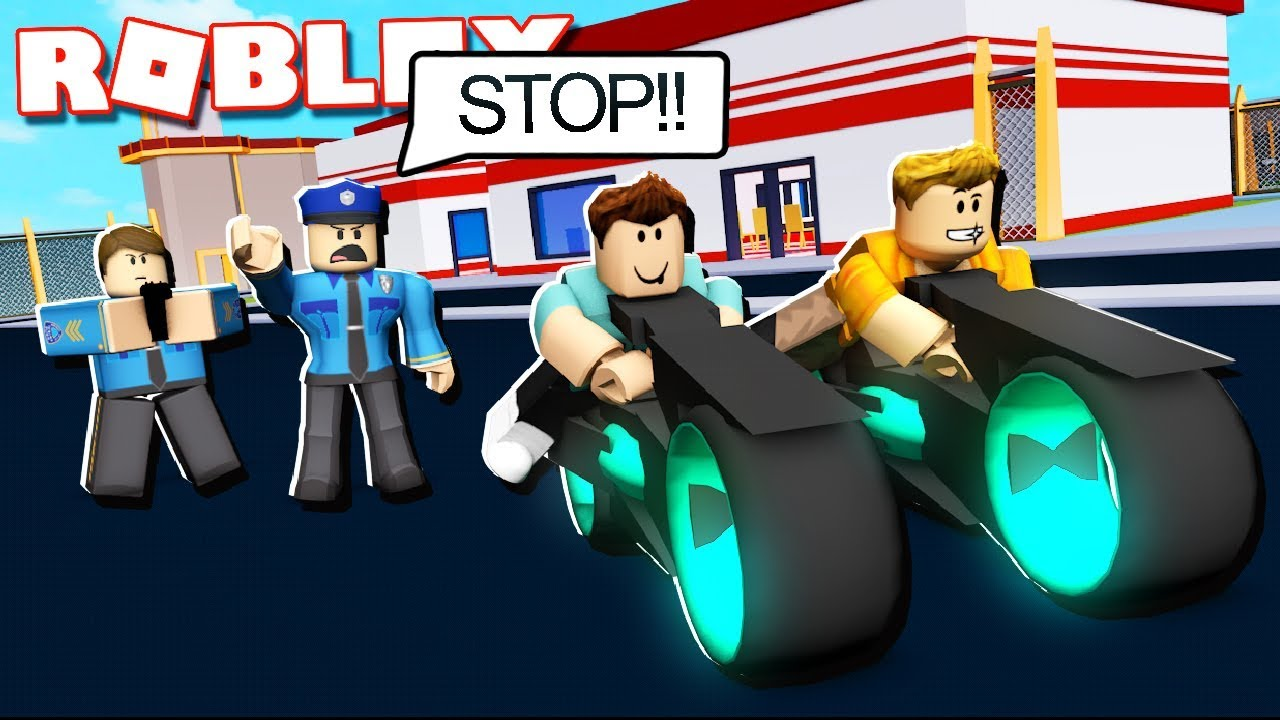 Roblox Adventures - VOLT BIKE ROBBERY IN JAILBREAK! (Roblox Jailbreak)
