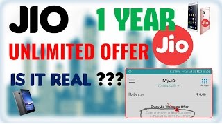 Jio 1 year Unlimited On any 4G Device Till 31 Dec 2017 😳 - Real Or Fake | Explained |