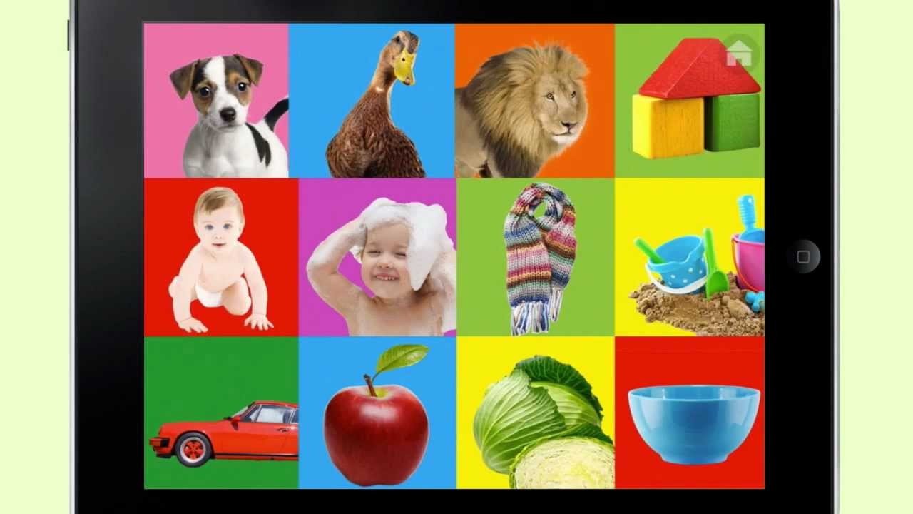 100 words for Babies & Toddlers - Educational Mobile