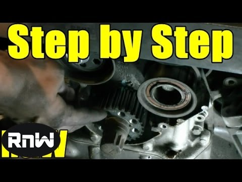 How to Replace the Timing Belt on a VW Passat AUDI A4 A6 2.8L Engine Part 1