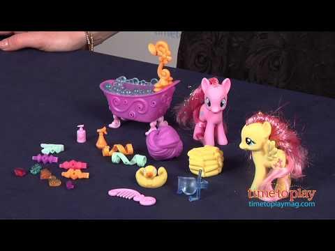 My Little Pony Pinkie Pie & Fluttershy Crystal Sparkle Bath from Hasbro