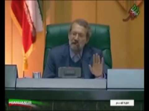فيلم کامل پاسخ لاريجاني به احمدي نژاد قسمت دوم