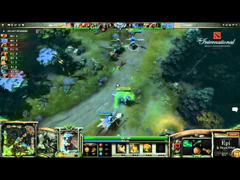 German   Na'Vi vs  Fnatic Game 2   The International 3 Group Stage   Epi