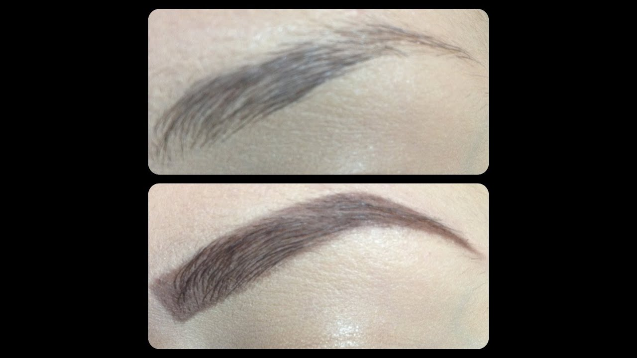 video on how to draw eyebrow