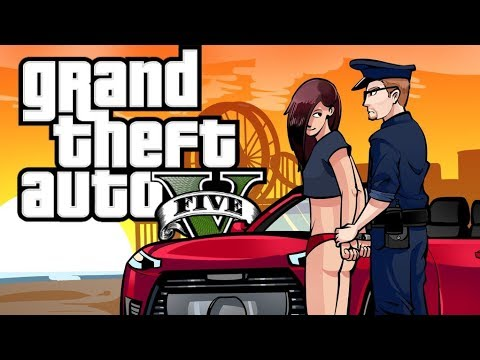GTA 5 - DIRTY GIRL! (POLICE MOD GTA 5)
