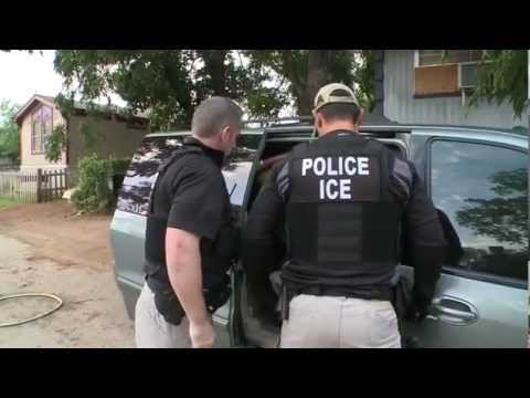 Raw Video: Ice & Dps Illegal Immigrant Sex Offender Sweep video