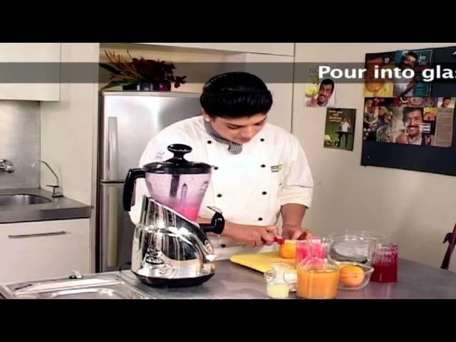 sddefault Strawberry And Orange Grenita (Mocktail) | Sanjeev Kapoor