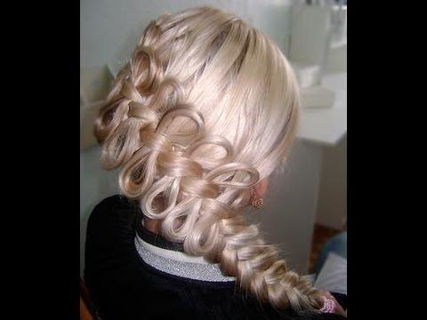 How to create a diagonal bow braid viriyuemoon youtube - Como hacer recogidos para bodas ...