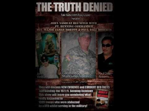MILITARY MEN EXPOSE UFO DISCLOSURE  at Fort Benning The Truth Denied Talk Radio