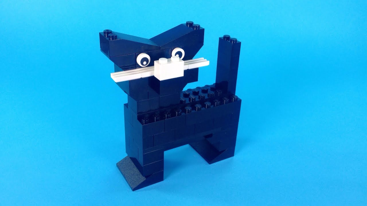 How To Make Lego CAT- 10664 Lego Bricks and More Creative Tower Tutorial - YouTube