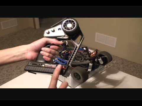 Set Dual Rate Steering Traxxas 2.4Ghz Radio