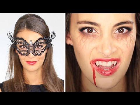 Tuto Maquillage Halloween Vampire Diaries Katherine Pierce Masquerade Ball