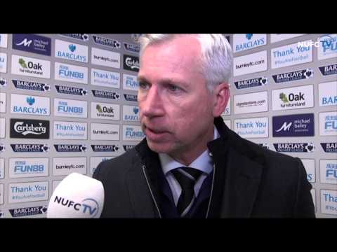Alan Pardew and Mehdi Abeid on draw with Burnley