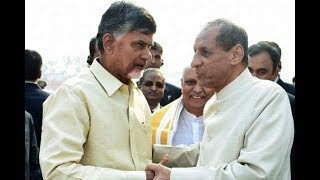 AP CM Chandrababu Naidu  to Meet Governor Narasimhan Today