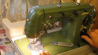 Sewing machine Швейная машина Anker Automatic RZ made in Germany Test