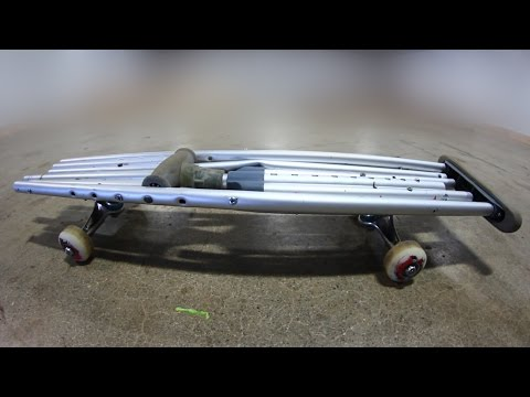 THE CRUTCH SKATEBOARD | YOU MAKE IT WE SKATE IT EP 97