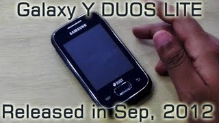 Samsung GALAXY Y DUOS LITE GT-S5302 aka GALAXY POCKET DUOS : Unboxing & Hands On REVIEW HD