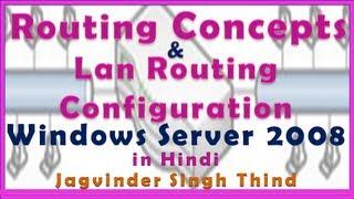 LAN Routing Server 2008 in Hindi